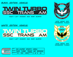 SSC Twin Turbo Trans Am Badging Spec Sheet by viperaviator