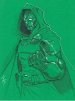 Dr. Doom by Hodges-Art