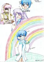 Kaito Shion's Double Rainbow Moment....SO INTENSE. by LeLeekSpinner13