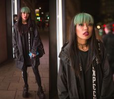 Grunge Street Girl at London 2015.05.16 by atmp