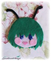 Wriggle - Touhou Project brooch by NyanRuki