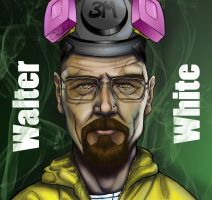 Walter White - Breaking Bad by GiorgioPennisi