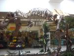 Tyrannosaur in a supermarket (lateral) by SophieEkard