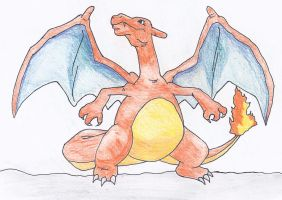 Charizard by NINJAWERETIGER