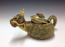 Dragon Teapot II by milbisous