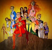 The GodRangers by GreenGodRanger