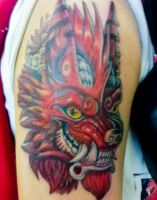 Werewulf Tattoo by The-Monstrum