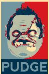 Dota 2 - Pudge - Hope Poster by marciomrb