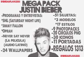 Mega Pack Justin Bieber by Dreamflawless