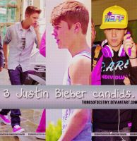 3 Justin Bieber candids. by ThingsOfDestiny