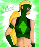 Artemis - Young Justice by Mich1309
