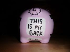 The Pig-NNY Bank :Back: by ParamourxLights
