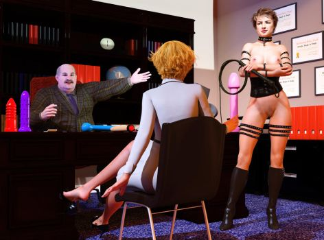 And Mistress Ilsa here will be your new supervisor by Cybersox13