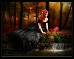 The Scarlet Flower by Michael-Rayne