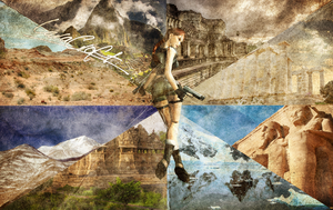 For Lara Croft's Birthday [2014] by MicheleMouse