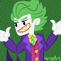 Why so SERIOUS??? by HirobArt