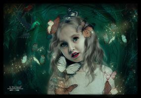 The butterfly child by annemaria48