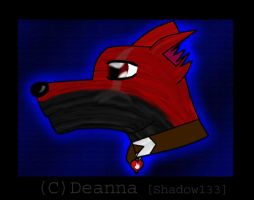 Wolf Head by Shadow133