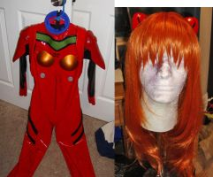 Asuka plugsuit WIP by nyunyucosplay