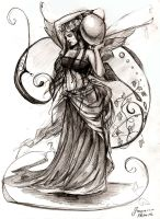Fairy with a vase by Eydhen