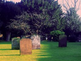 Gravestones by 6TheMagpie9