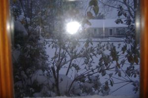Snow view out the window 2 by X-Bluberri-X