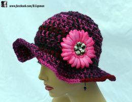 Subtly Hot Pink Flapper by LittleShopOfLostArts