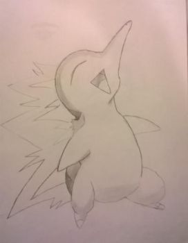 Cyndaquil by Arcobaleno1425M
