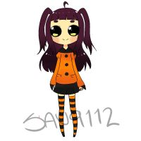 Halloween Adoptable by BananaBread9112