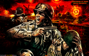 GAME FANART: BROTHERS IN ARMS: HELLS HIGHWAY 2 by CSuk-1T