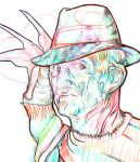 multicoloured freddy krueger by Freddykrueger100