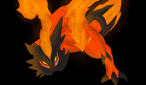 Fire Type Kyuurem by Raidenki21
