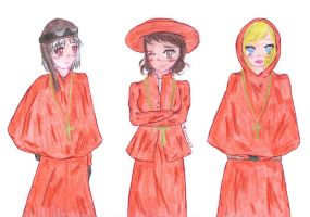 aph: Nobody expects the BadGirlsTrio inquisition!! by LoveEmerald