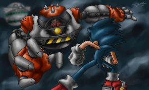 Versus: Sonic vs. Robotnik by Memphiston