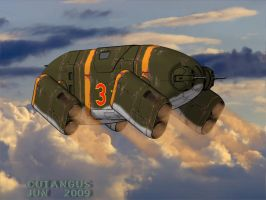 SOVIET ARMORED THING by CUTANGUS