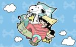 Teresha And Snoopy by kepalakardus