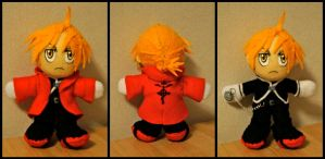 Plush Edward Elric by FlyingRabbitMonkey