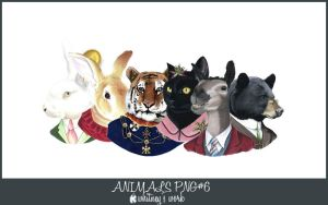 THE ANIMALS PNG by Kmhwhitney