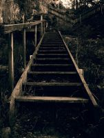 The Stairs by SarahSnusk