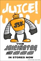 JUICINATOR 3000 - Poster by nickowolf