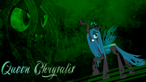 Queen Chrysalis Wallpaper by BlueDragonHans