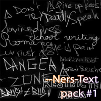 --Ners-Text-brushes by Ners