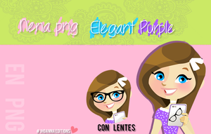 Nenita elegant Purple con problema arreglado by JhoannaEditions