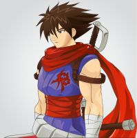 Strider Hiryu Vector by Moyashi-Arts--Chico
