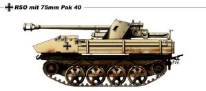 RSP mit 75mm Pak 40 by nicksikh