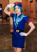 Officer Jenny Anime Boston 2014 by auyeahmedia