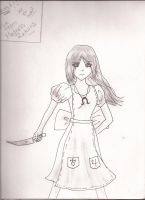 Alice from Madness Returns .:request:. by mewnekochibi