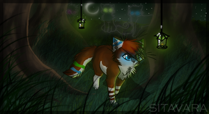 Nicky in a Forest by Sitavara