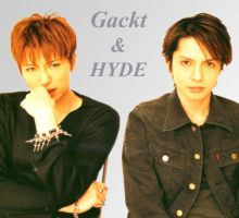 Gackt and HYDE by kittyquat