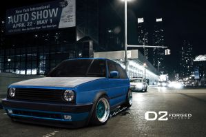 VW Golf II by DopeCreation by DopeCreation